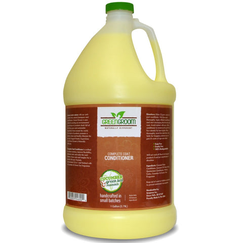 Green Groom Complete Coat Conditioner 1 Gallon - Kohepets