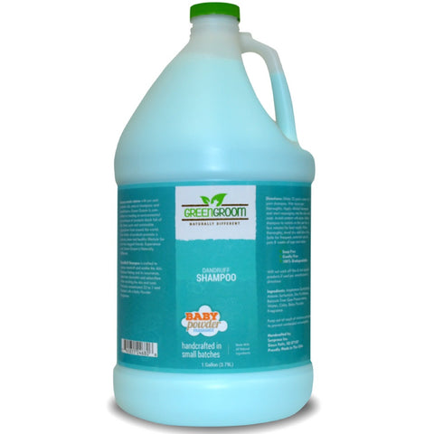 Green Groom Dandruff Shampoo 1 Gallon