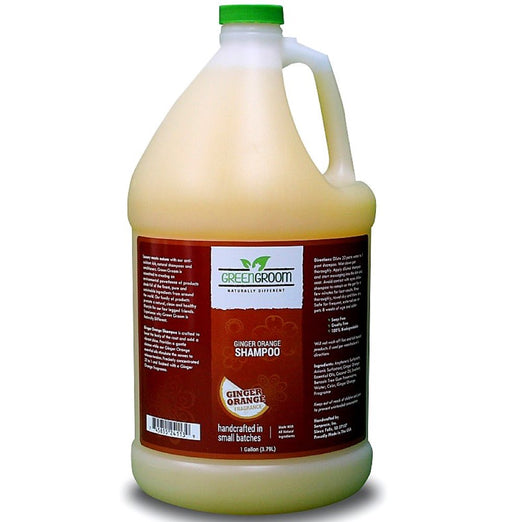 Green Groom Ginger Orange Shampoo 1 Gallon - Kohepets