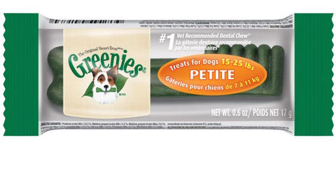 Greenies Petite Dental Dog Chew 1ct - Kohepets