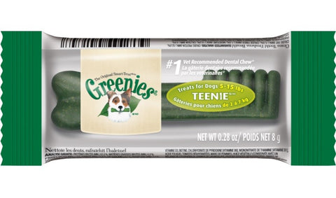 Greenies Teenie Dental Dog Chew 1ct - Kohepets