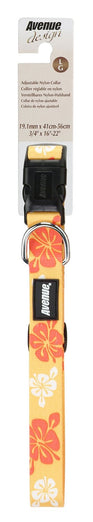 Hagen Avenue Dog Collar Hawaiian Splash - Large - Kohepets