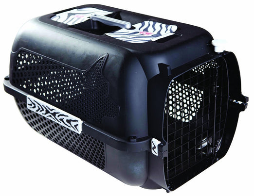Catit Voyageur 200 Cat Carrier - Black Tiger
