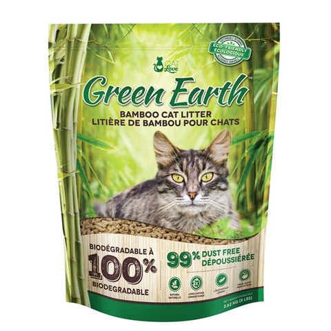 Cat Love Green Earth Bamboo Cat Litter 3.62kg