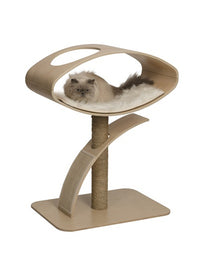 Vesper V-High Lounge In Poplar Cat Post
