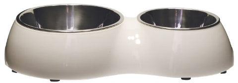 Catit Double Bowl - Medium - Kohepets