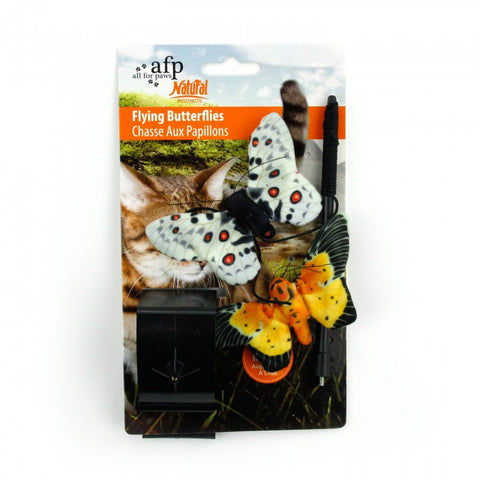 All For Paws Natural Instincts Butterflies Hanger 2pk Cat Toy