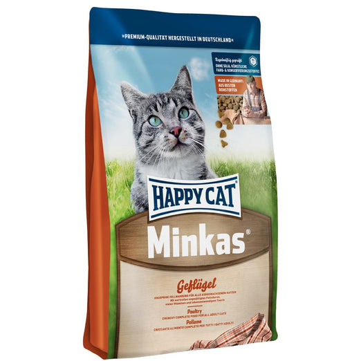 Happy Cat Minkas Geflügel Poultry Dry Cat Food