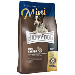 'BUY 1 GET 1 FREE': Happy Dog Mini Canada Salmon, Rabbit, Lamb & Potato Grain Free Dry Dog Food