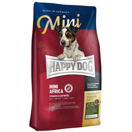 '40-50% OFF' (Exp Oct-Nov 19): Happy Dog Mini Africa Ostrich & Potato Grain Free Dry Dog Food