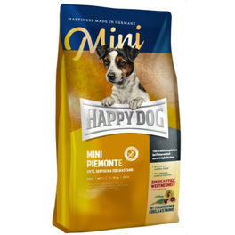 'BUY 1 GET 1 FREE': Happy Dog Mini Piemonte Duck, Seafish & Sweet Chestnut Grain Free Dry Dog Food