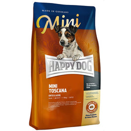 15% OFF 300g (Exp 6 Nov 19): Happy Dog Mini Toscana Duck & Salmon Dry Dog Food