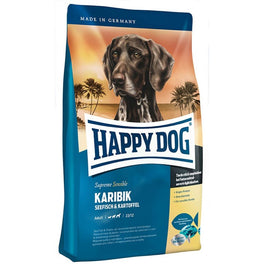 'BUY 1 GET 1 FREE': Happy Dog Karibik Seafish & Potato Grain Free Dry Dog Food
