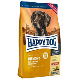 'BUY 1 GET 1 FREE': Happy Dog Piemonte Duck, Seafish & Sweet Chestnut Grain Free Dry Dog Food