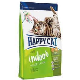 Happy Cat Indoor Weiden Lamm Farm Lamb Adult Dry Cat Food