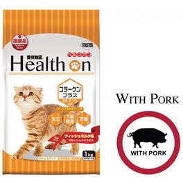 BUY 2 GET 1 FREE: Health On Collagen Plus Adult Dry Cat Food 1kg