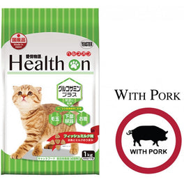 BUY 2 GET 1 FREE: Health On Glucosamine Plus Adult Dry Cat Food 1kg