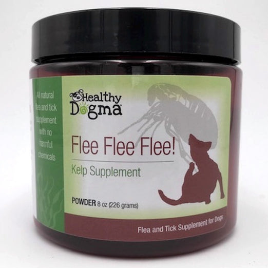 Healthy Dogma Flee Flee Flee Flea & Tick Dog Supplement 8oz - Kohepets