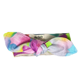 Hey Cuzzies Rainbow Cotton Reversible Scarf for Cats & Dogs