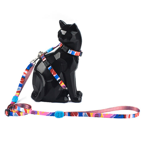 10% OFF: Hidream Profusion Cat H-Harness & Leash Set (Mountain Stamp) - Kohepets