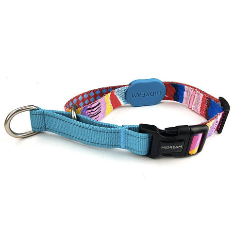 HiDREAM Profusion Martingale Dog Collar (Mountain Stamp)