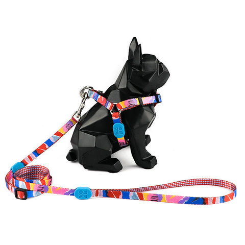 10% OFF: Hidream Profusion Y-Harness & Leash Set For Dogs (Mountain Stamp) - Kohepets