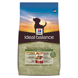 25% OFF : Hill's Ideal Balance Natural Chicken & Brown Rice Adult Dry Dog Food 4lb (Exp Jun 19)