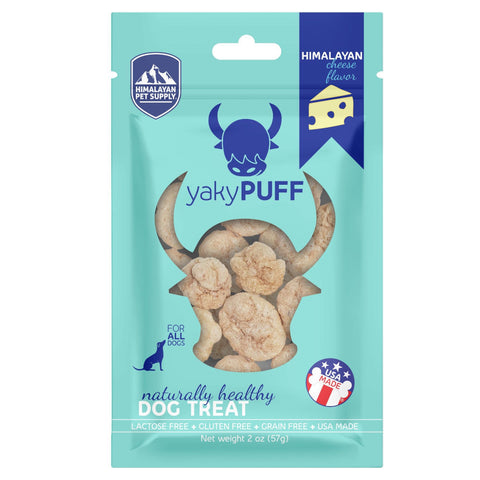 3 FOR $29: Himalayan Dog Chew YakyPuff Dog Treats (Cheese)