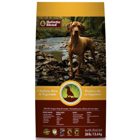 Holistic Blend All Life Stages Chicken, Rice & Vegetable Dry Dog Food - Kohepets