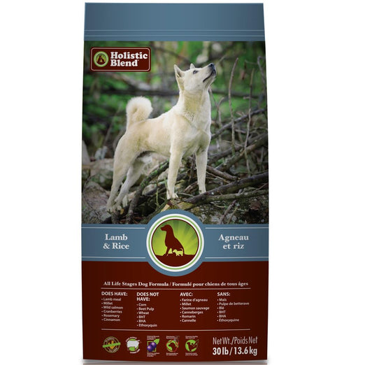 Holistic Blend All Life Stages Lamb & Rice Dry Dog Food - Kohepets