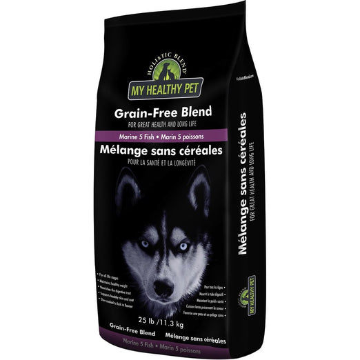 Holistic Blend All Life Stages Marine 5 Grain Free Dry Dog Food 25lb - Kohepets