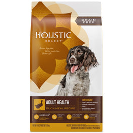 FREE FOOD BIN: Holistic Select Grain Free Adult Health Duck Meal Dry Dog Food
