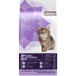 Holistic Select Adult & Kitten Health Chicken Meal Grain-Free Dry Cat Food