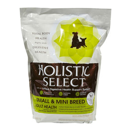 Holistic Select Small & Mini Breed Adult Anchovy & Sardine & Chicken Meals Dry Dog Food 3lb