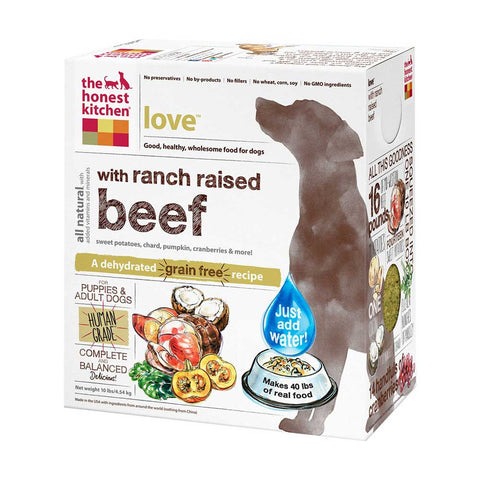 The Honest Kitchen Love Grain Free Dehydrated Dog Food - Kohepets