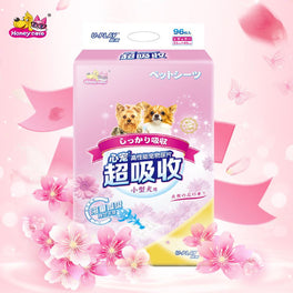 BUY 2 GET 1 FREE: Honey Care U-Play Floral Pee Pad