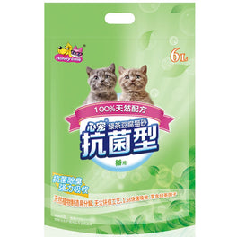 Honey Care Green Tea Tofu Cat Litter 6L
