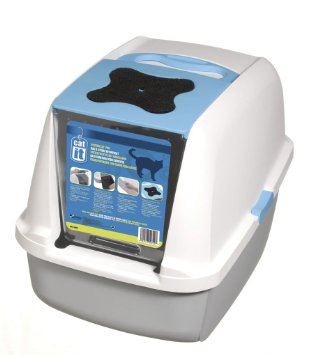 'FREE LITTER': Catit Hooded Cat Litter Pan