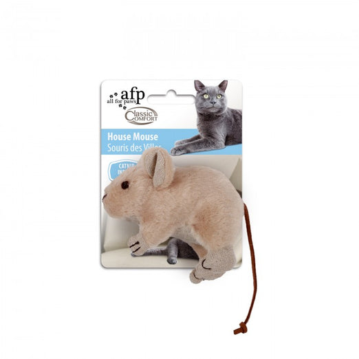 All For Paws Comfort House Mouse Cat Toy - Kohepets