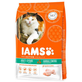 Iams ProActive Health Hairball Control Adult Roast Chicken Dry Cat Food