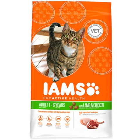 Iams ProActive Health New Zealand Lamb & Chicken Adult Dry Cat Food 3kg