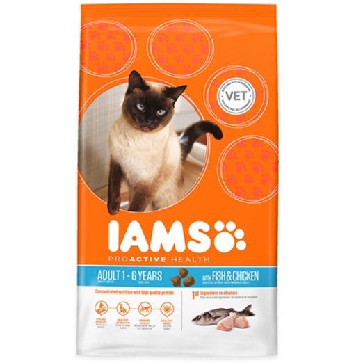 Iams ProActive Health Wild Ocean Fish & Chicken Dry Cat Food