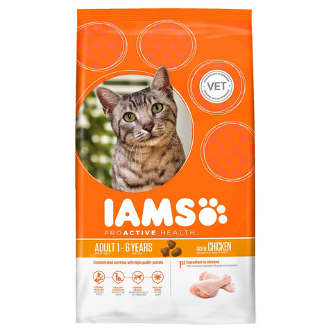 Iams ProActive Health Succulent Roast Chicken Adult Dry Cat Food