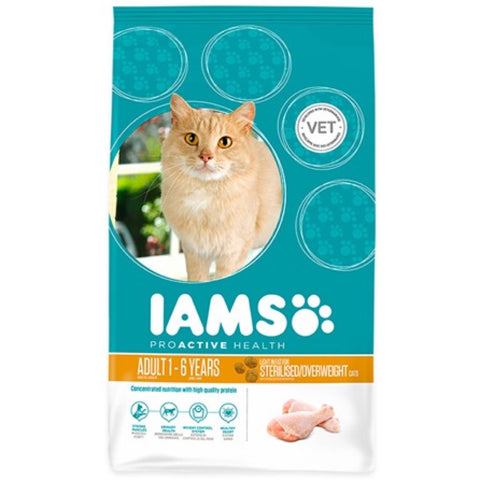 Iams ProActive Health Weight Control Roast Chicken Dry Cat Food - Kohepets