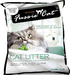 Fussie Cat Unscented Scoopable Cat Litter 10L