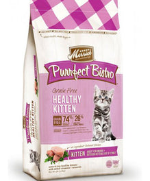 Merrick Purrfect Bistro Grain Free Healthy Kitten Dry Cat Food 4lb