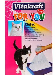 Vitakraft Cat Clofix Bas Cat Litter Box Liner