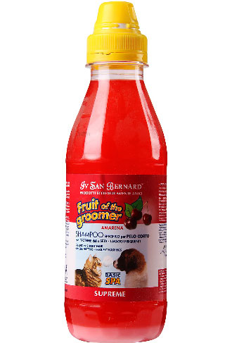 IV San Bernard Fruit Of The Groomer Supreme Amarena Black Cherry Shampoo 500ml - Kohepets