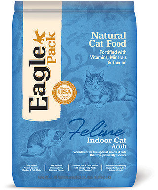 Eagle Pack Adult Indoor Dry Cat Food 3lb - Kohepets