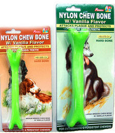 10% OFF: Percell Nylon Green Vanilla Chew Hard Bone Medium